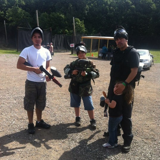 Photo taken at Badlandz Paintball Field by Sergio A. on 6/28/2012