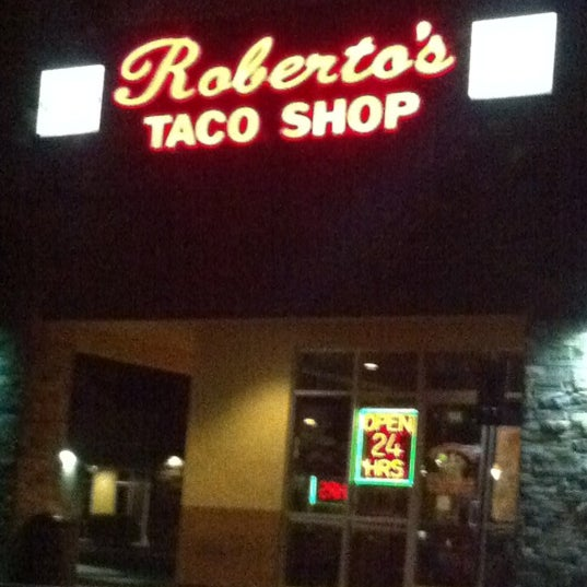 Photo taken at Roberto's Taco Shop by Mario on 6/20/2012
