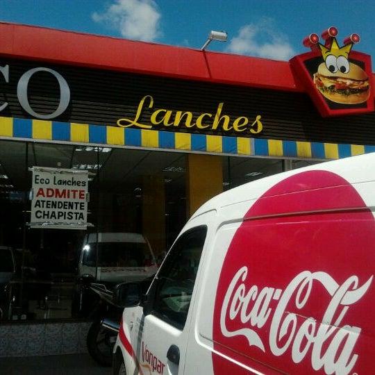 Foto tirada no(a) Eco Lanches por Henrique F. em 2/23/2012