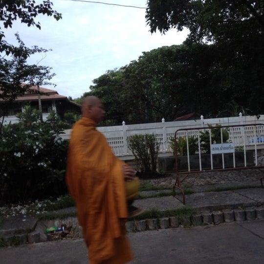Photo taken at ลานใส่บาตร by Som O D. on 6/18/2012