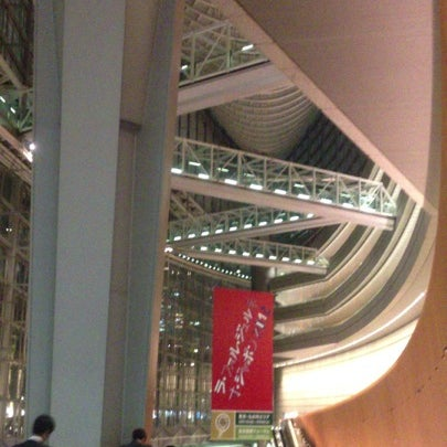 Photo taken at Glass Building by Kentaro I. on 4/25/2012