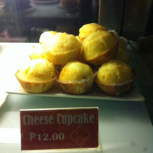 Try their Cheese Cupcake for P12.00 each~
