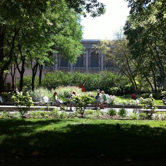 Photo taken at Sculpture Garden - Art Institute of Chicago by Noah P. on 7/25/2011