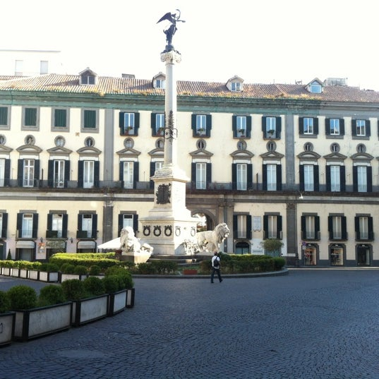 Photo taken at Piazza dei Martiri by Fred M. on 8/24/2012