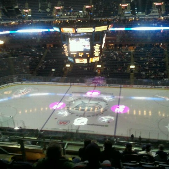 Photo taken at Nationwide Arena by Mike S. on 12/16/2011