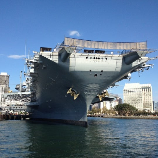 Photo taken at USS Midway Museum by Marilena C. on 8/19/2012