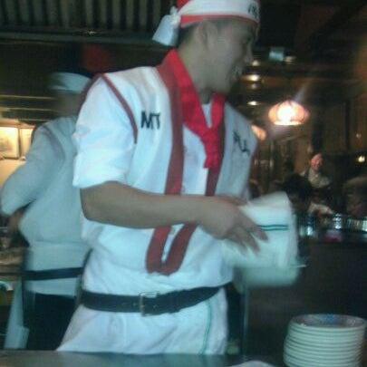 Photo taken at Mt. Fuji Japanese Steak House by Mona J. on 12/25/2011