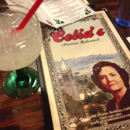 Photo taken at Celia's Mexican Restaurant by Sebastian F. on 1/26/2012