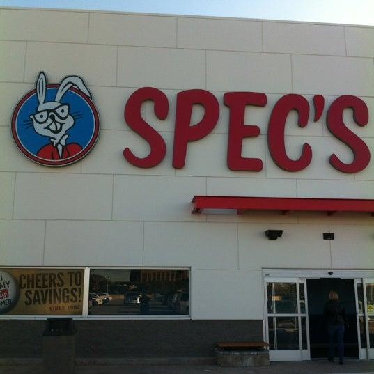 Photo prise au Spec's par Jim G. le2/11/2012