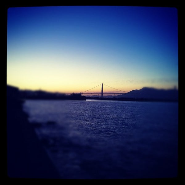 Photo taken at Golden Gate Yacht Club by Flavio M. on 10/21/2011