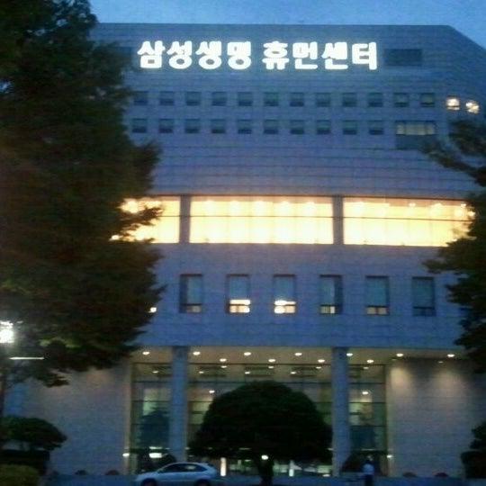 Photo taken at 삼성생명 휴먼센터 by Lee h. on 9/7/2011