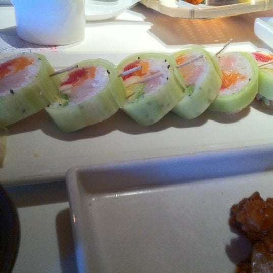 Photo taken at Katsuya Brentwood by Sophia H. on 7/29/2012