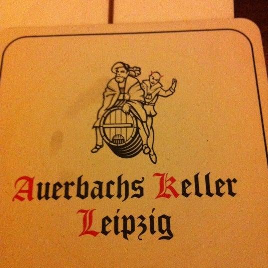 Das Foto wurde bei Auerbachs Keller von Nicolas H. am 11/9/2011 aufgenommen