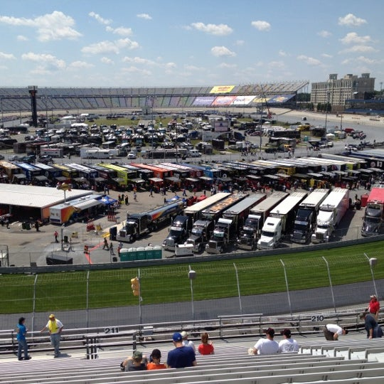 Photo taken at Dover International Speedway by Julio F. on 6/4/2012