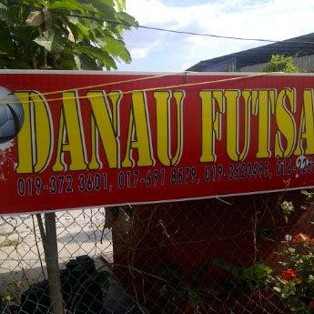 Photo taken at Anis & Eisya Danau Futsal by Richard C. on 1/7/2012