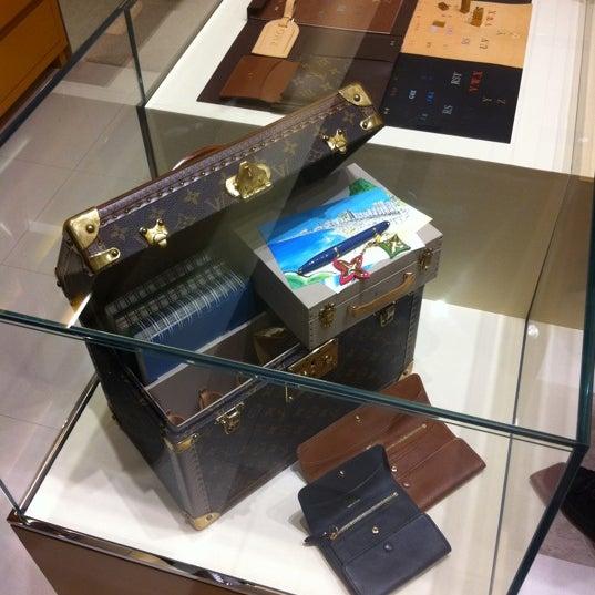 Photo taken at Louis Vuitton by Alex Z. on 8/18/2011