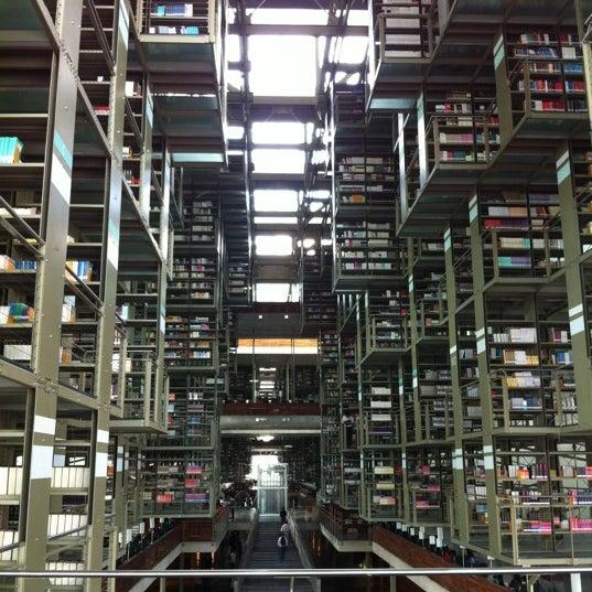 Photo taken at Biblioteca Vasconcelos by Enrique Josue C. on 2/21/2012