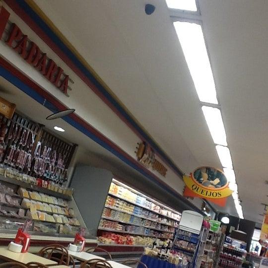 Photo taken at Supermercados Nazaré by Licia S. on 9/4/2012