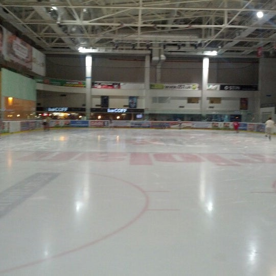 Снимок сделан в Айс Холл / Ice Hall пользователем Ivan T. 7/21/2012