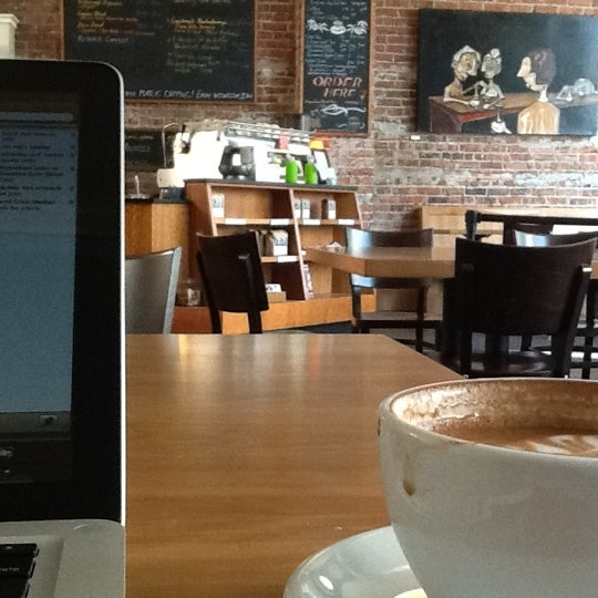 Photo taken at Victrola Cafe and Roastery by Jaebadiah G. on 7/17/2012