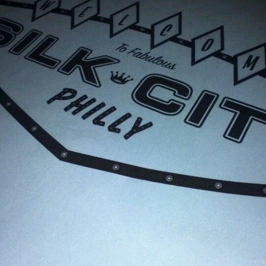 Photo taken at Silk City Diner Bar & Lounge by Tasha E. on 1/13/2012