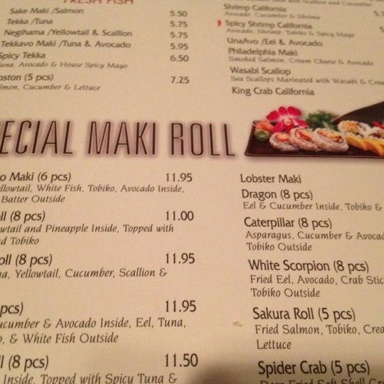 Photo taken at Jacky's Galaxie & Sushi Bar by Jordan on 8/20/2012