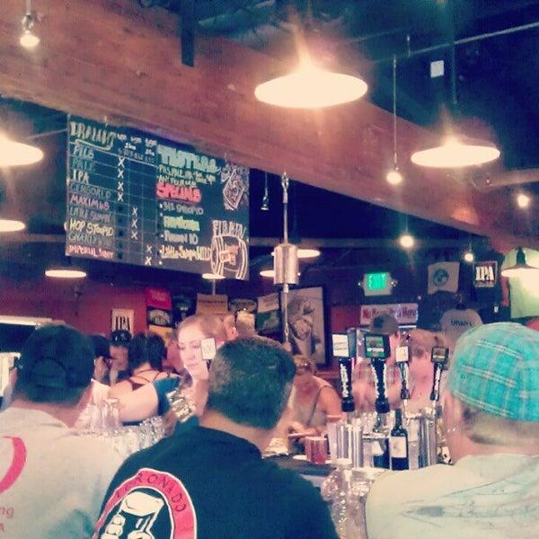 Photo taken at Lagunitas Brewing Company by Vanessa G. on 8/19/2012