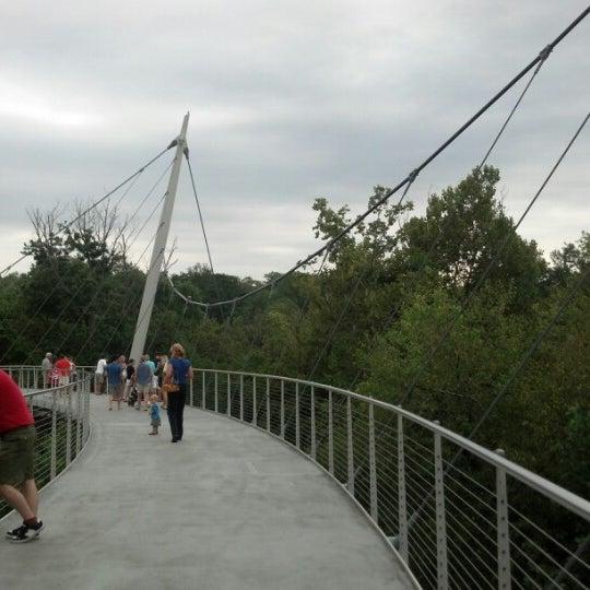 Photo taken at Liberty Bridge by Joel H. on 8/18/2012