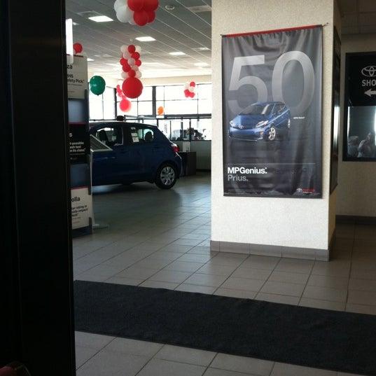Photo Taken At Galaxy Toyota By Anita B. On 3/30/2012