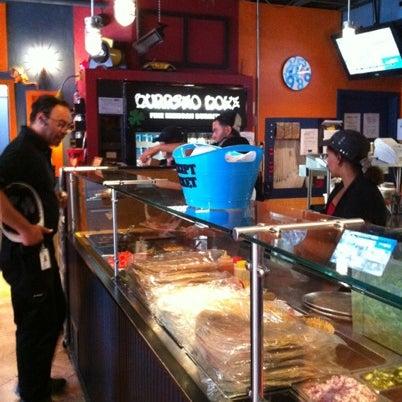 Photo taken at Burrito Boyz by Joe L. on 7/23/2012