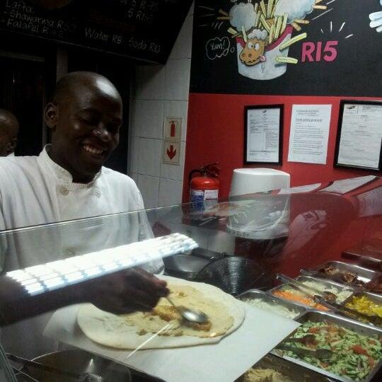 Photo taken at Shawarma Express by James C. on 4/19/2012