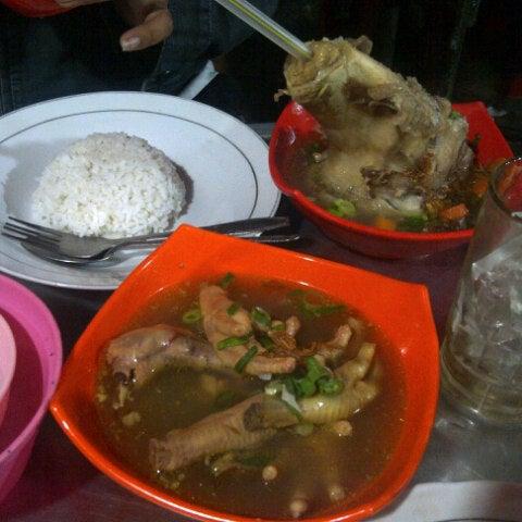 Photo taken at Pusat Kuliner Jajan Makan TMP Kalibata by Ririn Diah A. on 6/29/2012