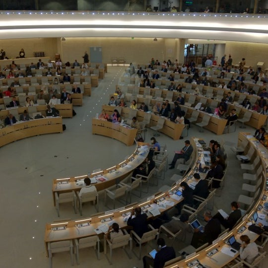 Photo taken at Palais des Nations by Oleg A. on 9/11/2012