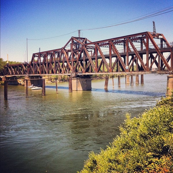 I Street Bridge Bridge In West Sacramento