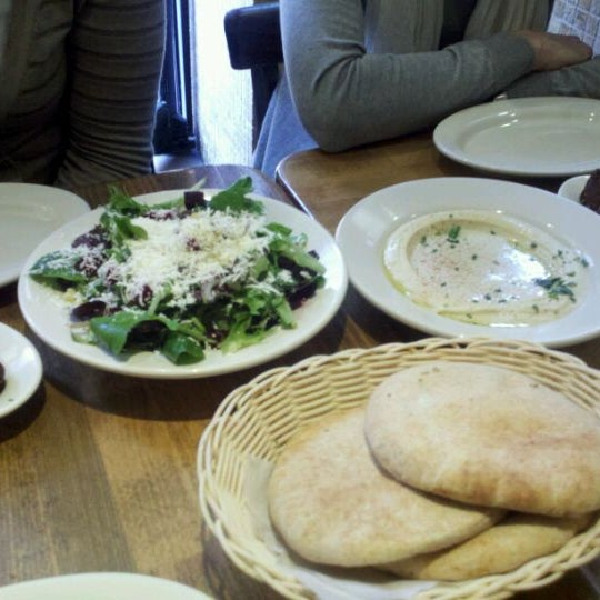 Photo taken at Hummus Place by Rose T. on 3/18/2012