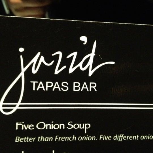 Photo taken at Jazz'd Tapas Bar by Antwain H. on 6/9/2012