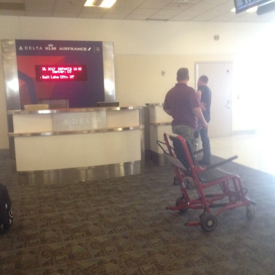 Photo taken at Gate A6 by Gene on 7/9/2012