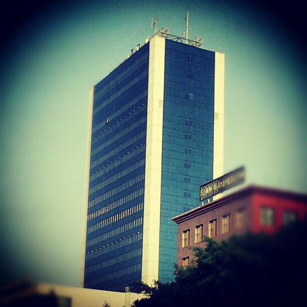 Photo taken at Avenue Habib Bourguiba by Charfeddine R. on 7/11/2012
