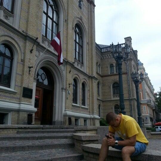 Photo taken at University of Latvia by Hardijs L. on 8/6/2012