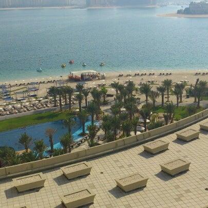 6/26/2012 tarihinde Anna K.ziyaretçi tarafından Rixos The Palm Dubai'de çekilen fotoğraf