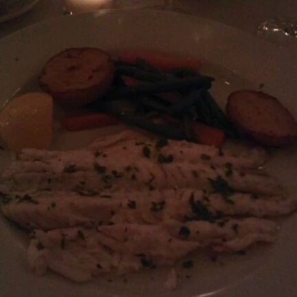 Photo taken at Luce Restaurant & Enoteca by Jackie on 7/24/2012