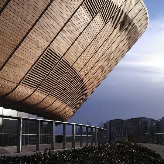 1/16/2014 tarihinde Frederico D.ziyaretçi tarafından Queen Elizabeth Olympic Park'de çekilen fotoğraf