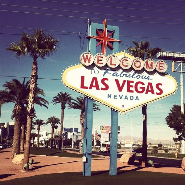 Photo taken at Welcome To Fabulous Las Vegas Sign by pier on 11/26/2012