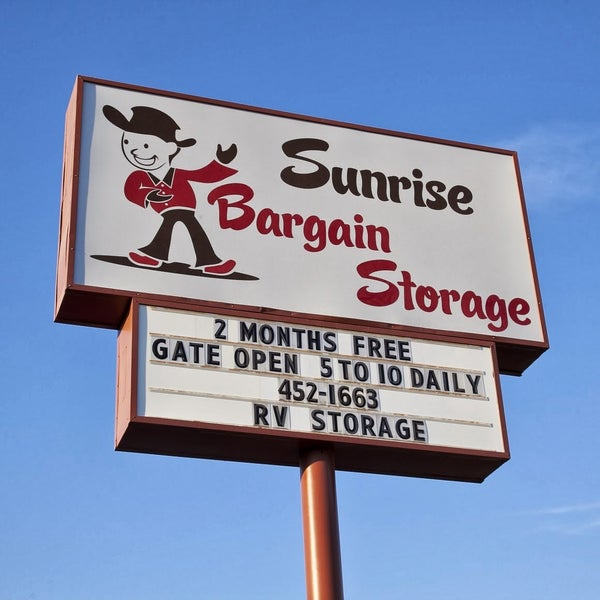 Photo Taken At Sunrise Bargain Storage By Barry R. On 7/3/2016