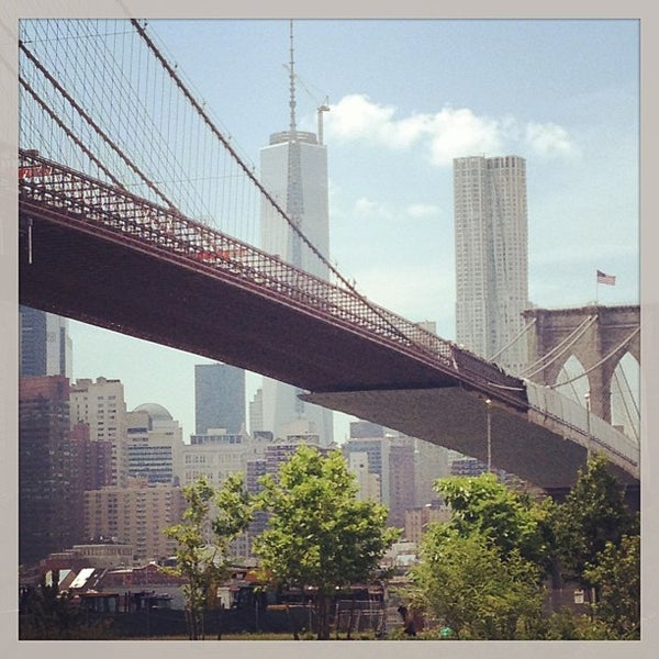 Photo taken at Brooklyn Bridge Park by Mikey C. on 6/24/2013