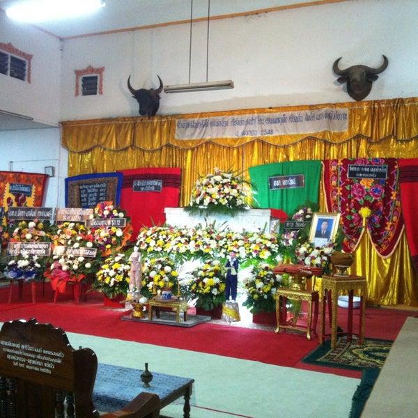 Photo taken at วัดดอนตูม บ้านโป่ง by Nokza T. on 6/12/2013