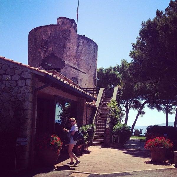 Foto scattata a Torre di Cala Piccola Hotel Monte Argentario da Varvara K. il 7/2/2013