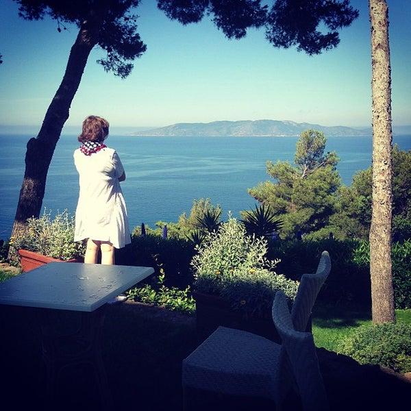 Foto scattata a Torre di Cala Piccola Hotel Monte Argentario da Varvara K. il 7/3/2013