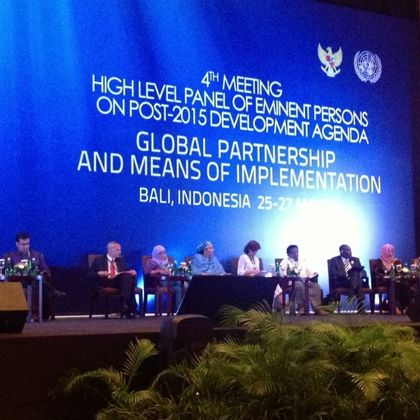 Photo taken at Bali International Convention Centre (BICC) by Wilson S. on 3/25/2013