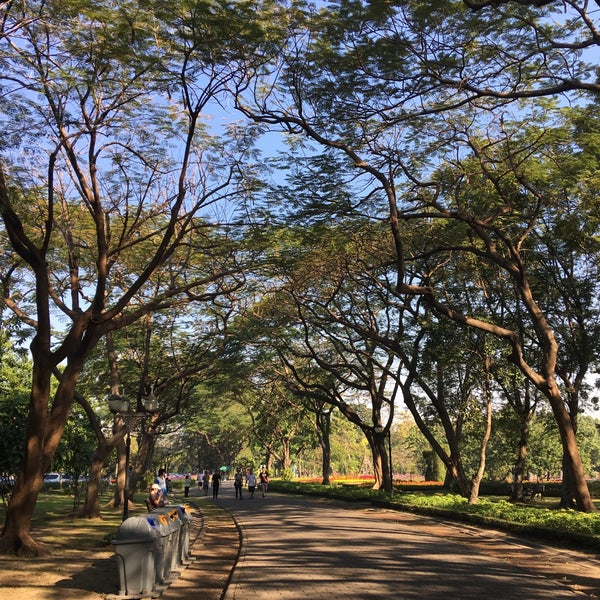 Photo taken at Queen Sirikit Park by PoplatakoM on 12/24/2017